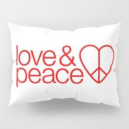 Love & peace Pillow Sham