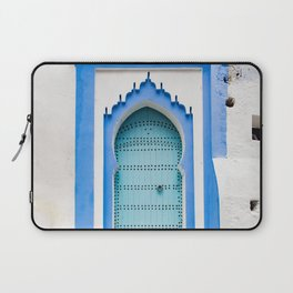 Doors - Chefchaouen, Morocco Laptop Sleeve