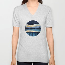 Midnight Lake Unisex V-Neck
