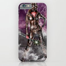 Leather warrior girl iPhone 6s Slim Case