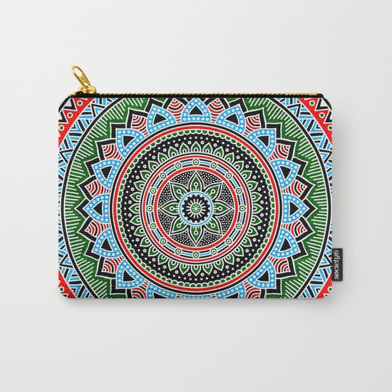 Hippie Mandala 14 Carry-All Pouch
