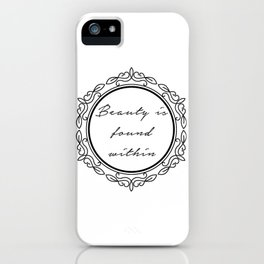 With a Magic Mirror iPhone Case