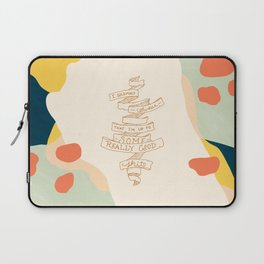 I Solemnly Swear Good Sh#t —Puff Laptop Sleeve