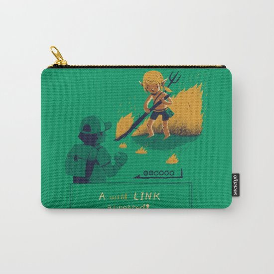 a wild link appeared Carry-All Pouch