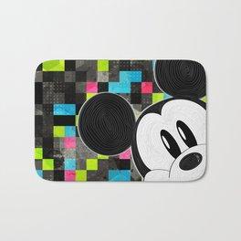 Mickey Swirl Pop Art Bath Mat