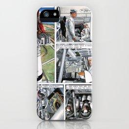 Apollo 11 comic - page 4 iPhone Case