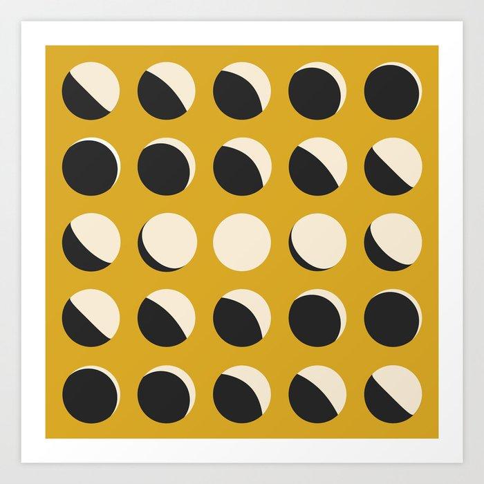 Moon Phased in Honey Kunstdrucke