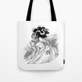 Inktober Bride of Frankenstein Tote Bag