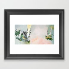 Foehn Wind Framed Art Print
