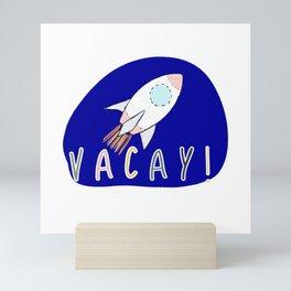 Vacay! Mini Art Print