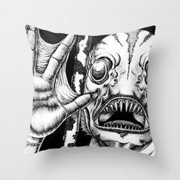 Deep One Throw Pillow