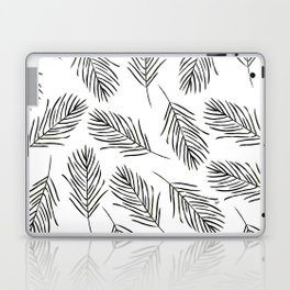 Black leaves Laptop & iPad Skin