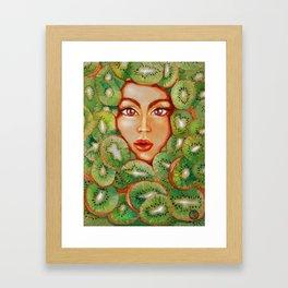 Waterkiwi Framed Art Print