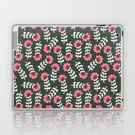 Camelita Retro Folk Flower Laptop & iPad Skin