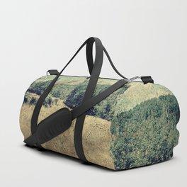 Vintage landscape Duffle Bag