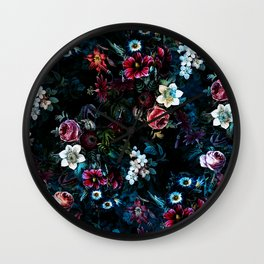 NIGHT GARDEN XI Wall Clock