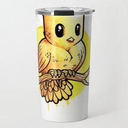 Stop Overthinking This Gosh Darn Crap and Just Draw a Bird! Travel Mug