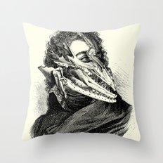 Neoromantic Throw Pillow