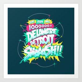My Hero 1M% Art Print