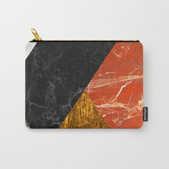 Marble Abstract Carry-All Pouch