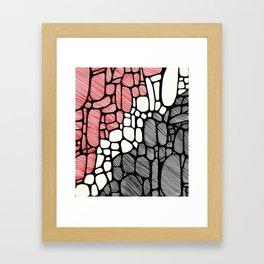 Piedras Rayadas 1 Framed Art Print