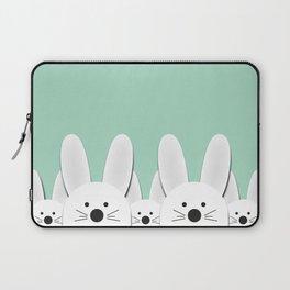 Spying Bunnies Laptop Sleeve