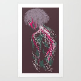 Veins Art Print