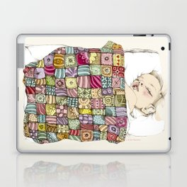 sleeping child Laptop & iPad Skin