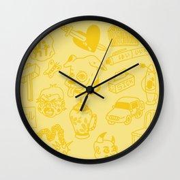 Flash Sheet #1 Wall Clock