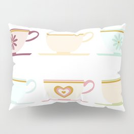 Teacups Pillow Sham