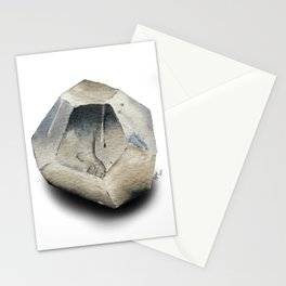 Illuminated Structure: Solo Pyrite Nugget Stationery Cards