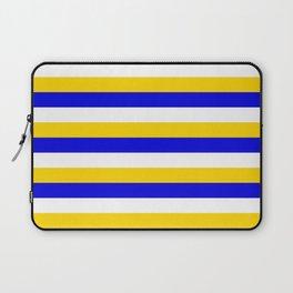 Bosnia Herzegovina Uruguay flag stripes Laptop Sleeve