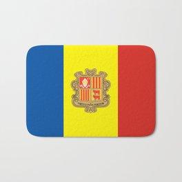 Andorra country flag Bath Mat