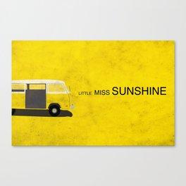 Little Miss Sunshine Minimalist Poster Canvas Print