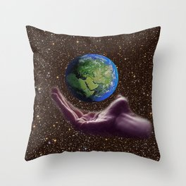 Hold On! Throw Pillow