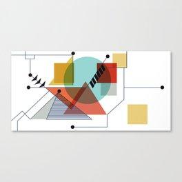 Bauhaus Kandinsky Modern Art Canvas Print