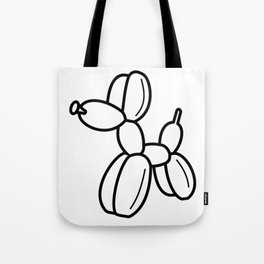 Outline pattern of modern art Tote Bag