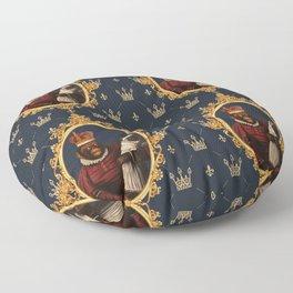 Monkey Queen with Pug Baby Floor Pillow
