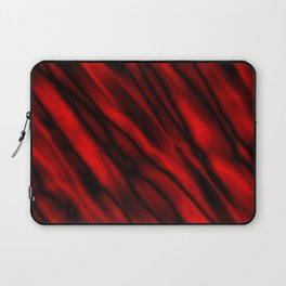 A bright cluster of red bodies on a dark background. Laptop Sleeve
