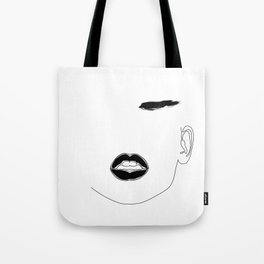 Lip & Brow Tote Bag