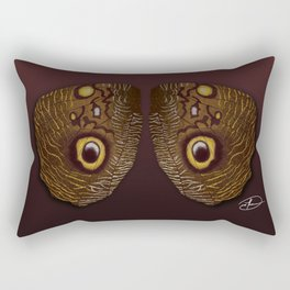 Wings of Eyes Rectangular Pillow