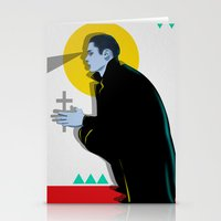 the vampire diaries Stationery Cards featuring Vampire by Musya