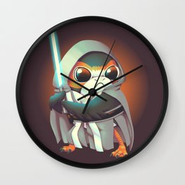 The Last Porg Wall Clock