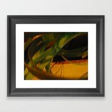 warrior in motion Framed Art Print