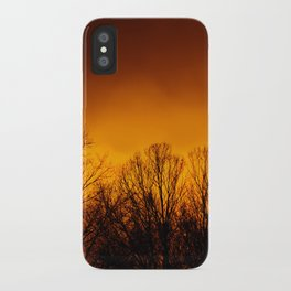 Too Close to the Fire iPhone Case