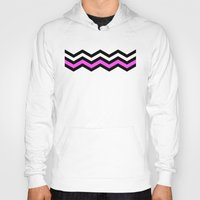 chevron Hoodies featuring CHEVRON by Veylow