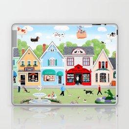 Dog Lovers Lane Laptop & iPad Skin