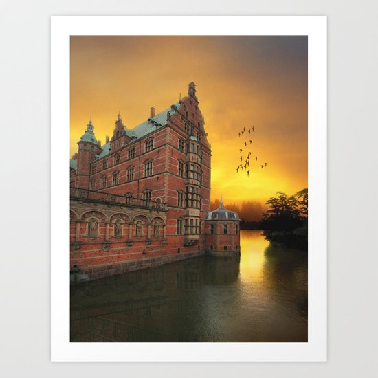 Castle View Art Print