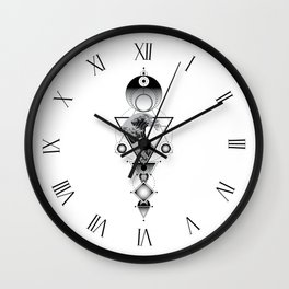 Tome of the Sea Wall Clock