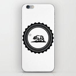 CALI WHITE iPhone Skin